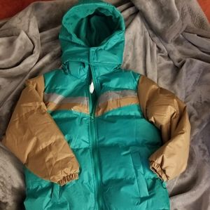 NWOT Boys Puffer Removable Hooded Coat Sz 7/8
